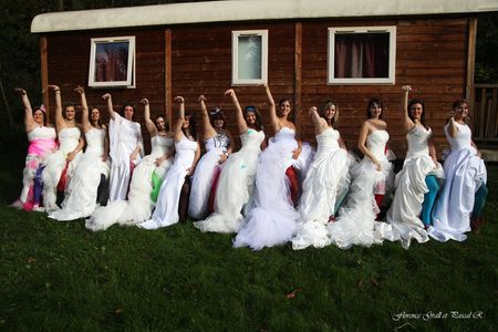 Le Trash the Dress collectif des mari�es de mariages.net