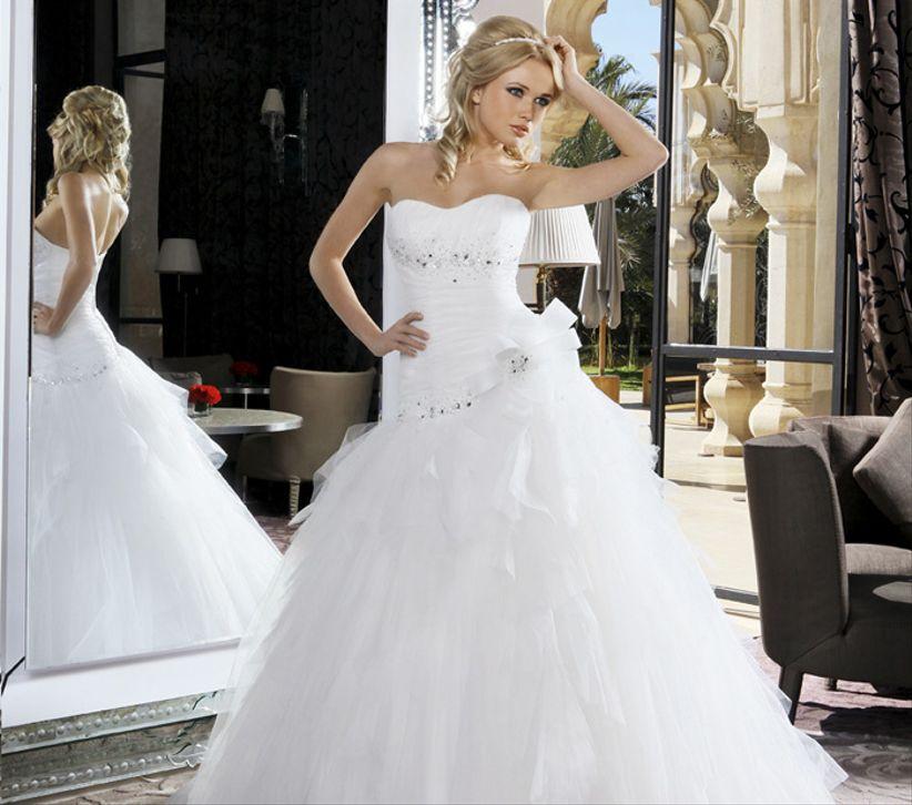 Robes de mariée Hervé Mariage collection Mirella 2014 a0d1c3bdd0ea