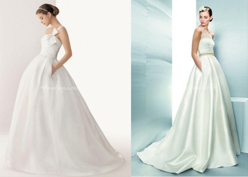 8 robes de mari e avec poches