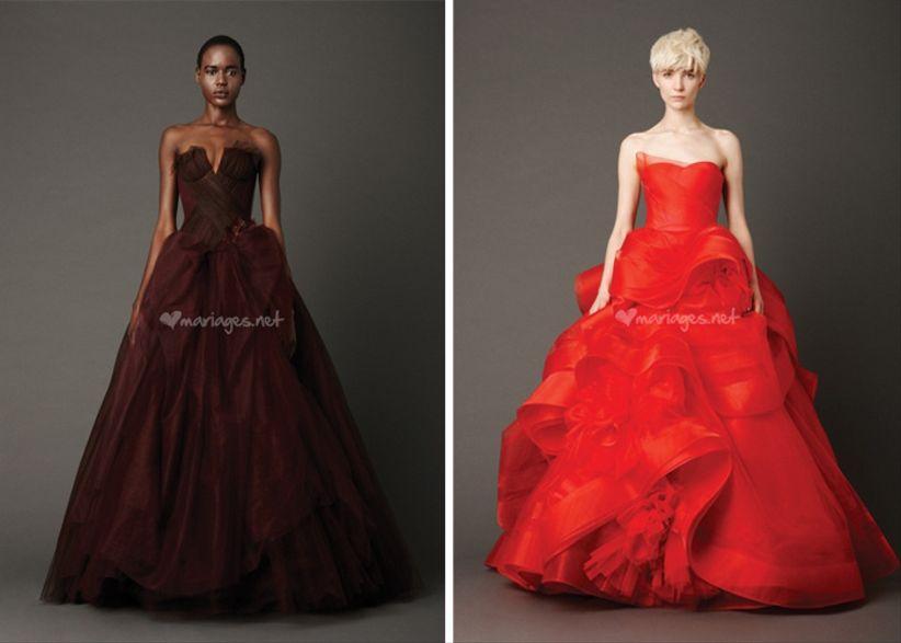 Robes de mari e vera wang collection 2013 for Meilleures robes de mariage vera wang