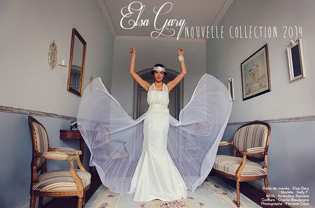 Robes de mari�e Elsa Gary Collection 2014