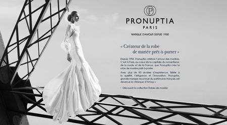 10 robes de mari�e Pronuptia 2014 (photos)