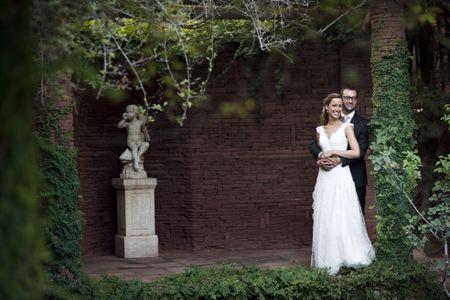 Le mariage de Sonia et Paul sur le thème du jardin