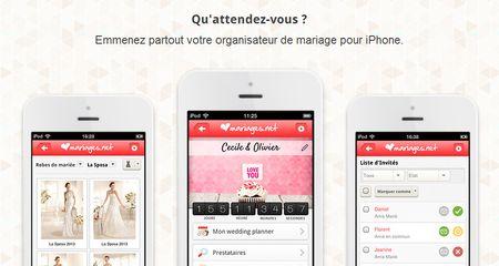 3 bonnes raisons de télécharger notre application mobile de mariage