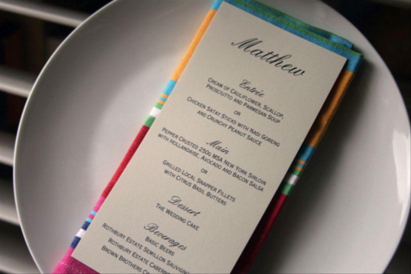 6 menus de mariage pas chers et originaux for Menus originaux faciles