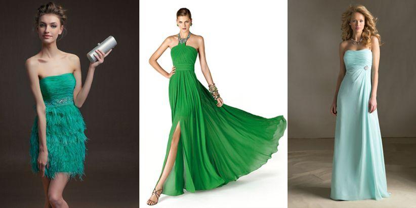 15 robes vertes pour les invit es du mariage