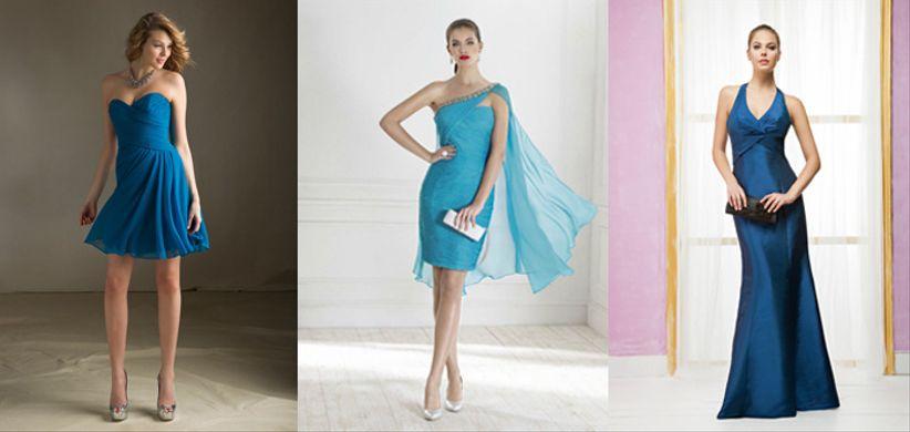 15 robes bleues pour les invit es du mariage