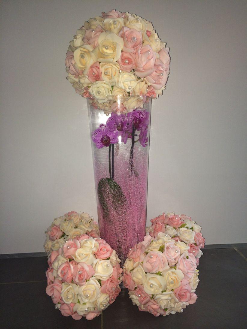 tutoriel pour cr er des boules de roses. Black Bedroom Furniture Sets. Home Design Ideas