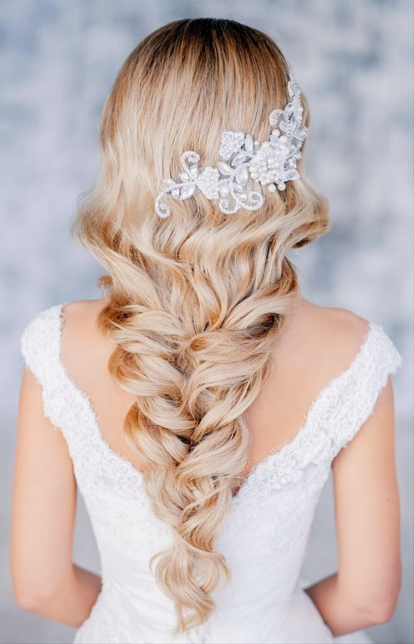 Coiffure Mariee Cheveux Long Detache Lannaginasisi Web