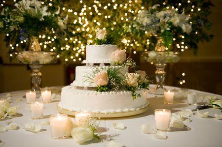 Recette pour gla�age de wedding cake