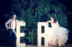 Un mariage rustique plein de bonnes idées déco faites maison