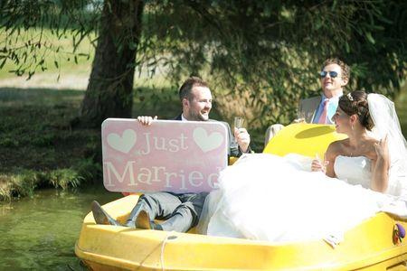 Alternatives � la voiture de mariage