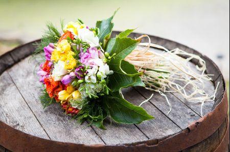 15 bouquets de mari�e hauts en couleur !