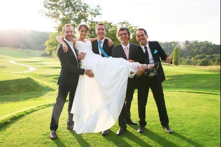 L�ivoire ou le blanc pour la robe de mari�e