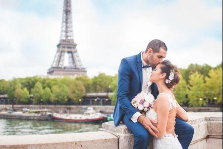 10 lieux romantiques pour des photos de mariage à Paris