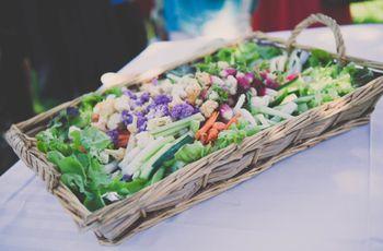 Fruits et légumes : comment composer un buffet de mariage équilibré ?