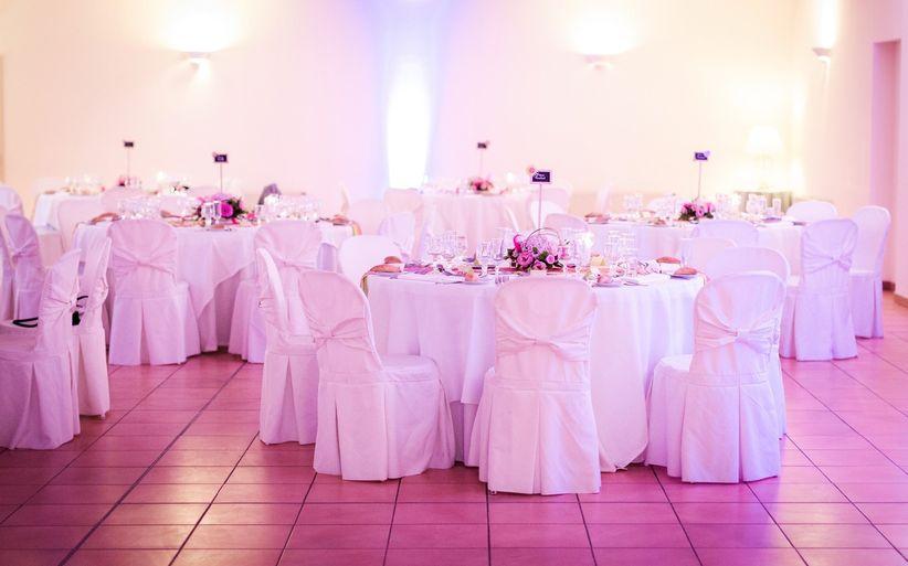 Les housses de chaises du mariage - Housses de chaises en tissu ...