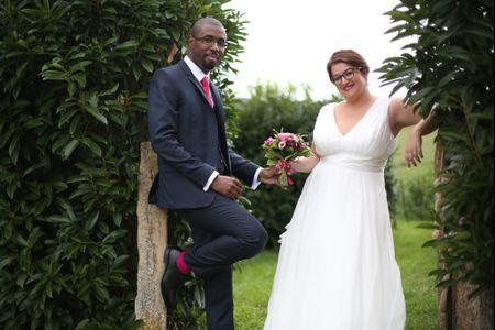 Costumes de mari� pour un mariage vintage