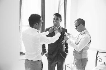 Cravate ou n�ud papillon pour le mari�