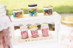 Meubles détournés pour créer votre candy bar