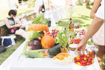 5 alternatives à un repas de mariage formel