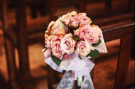Tradition du lancer du bouquet de la mari�e