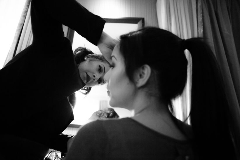 11 conseils pour l 39 essai maquillage de la mari e for Miroir maquilleur