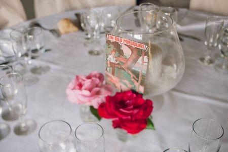 Id�es de noms de tables pour un mariage