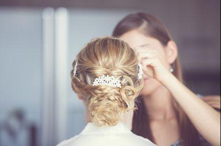 Le chignon bas pour la coiffure du mariage