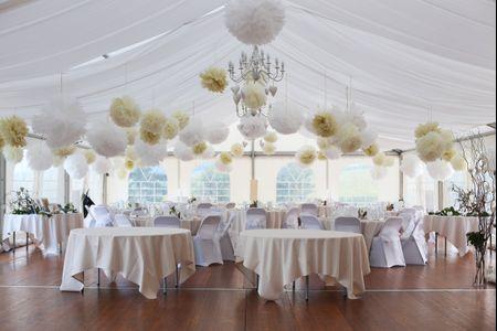 Les tentures pour décorer votre salle de mariage