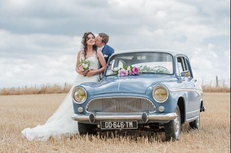 Tout sur le cort�ge des voitures du mariage