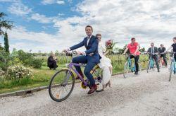 Lune de miel à vélo en France