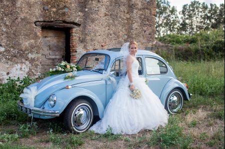 Ann�es 20 � 80 : une voiture d��poque pour votre mariage