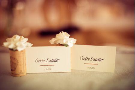 20 id�es originales de marque-places pour votre mariage