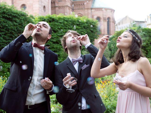 5 idées pour la sortie d'église des mariés