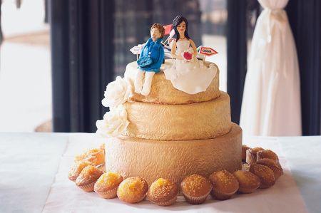 Tendances Wedding Cakes 2016 : originalité et bon goût !