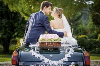 « Just Married » : 5 idées déco pour l'arrière de la voiture des mariés