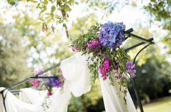 50 arches de cérémonie fleuries : quelles fleurs, quelles couleurs ?