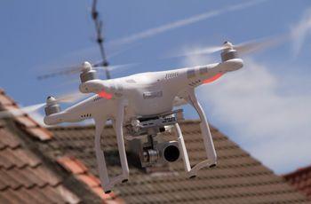 Drone : nouvelle tendance vidéo de mariage