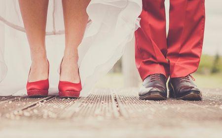 Mariages en rouge : 20 fa�ons de combiner la passion dans votre d�coration