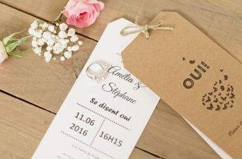 28 citations d'amour pour votre faire-part de mariage