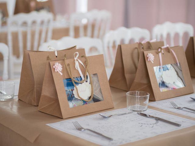 Welcome bag pour les invités du mariage