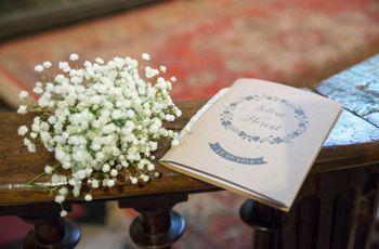 Préparer le livret de messe du mariage