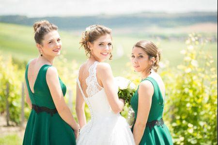 20 robes splendides pour les demoiselles d'honneur