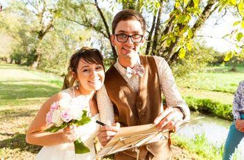 5 bonnes raisons d'organiser une cérémonie de mariage en plein air