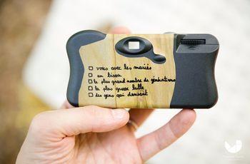 Des appareils photo jetables pour vos invités le jour J