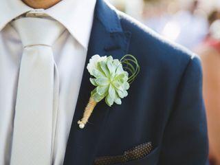 20 boutonnières originales pour un look de marié unique