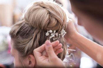 Chignon haut : la coiffure de mariée qui s'adapte à tous les styles