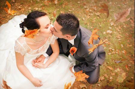 Id�es pour une d�coration de mariage avec de l�orange