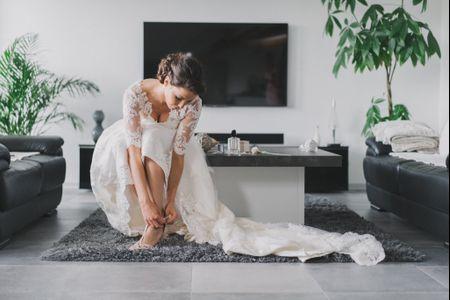 Robes de mariées mi-longues